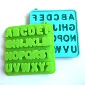 アルファベット数字シリコンアイス型