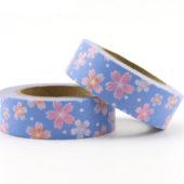桜模様和紙テープ