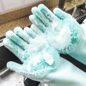 食器洗シリコン手袋