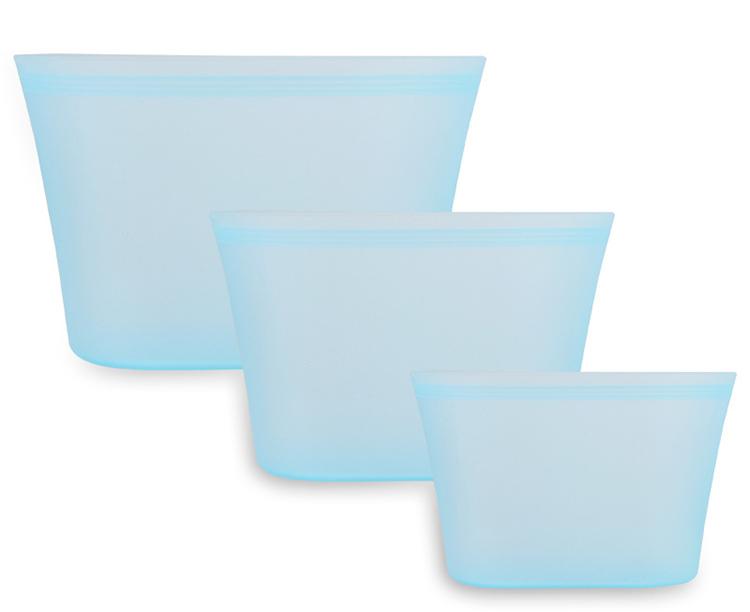 シリコン保存袋新品blue