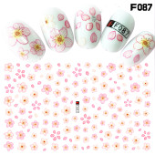桜型ネイルシール自作
